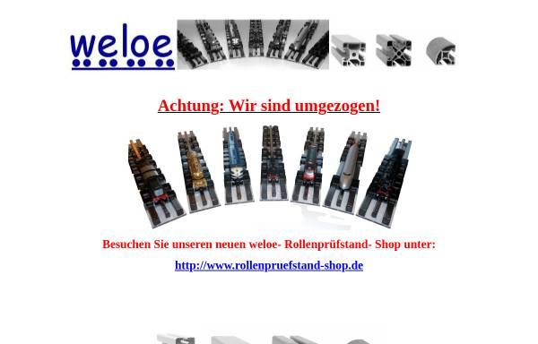 Vorschau von www.weloe.de, Weloe, Thomas Löffler