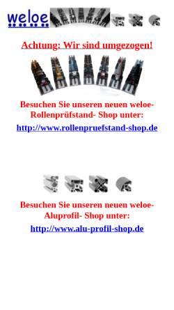 Vorschau der mobilen Webseite www.weloe.de, Weloe, Thomas Löffler
