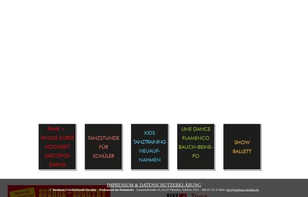 Vorschau von www.tanzhaus-dresden.de, Tanzhaus Dresden - Friedrichstadt