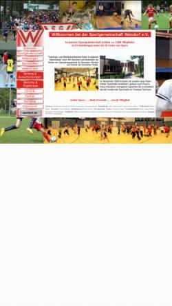 Vorschau der mobilen Webseite www.sgweixdorf.de, Sportgemeinschaft Weixdorf