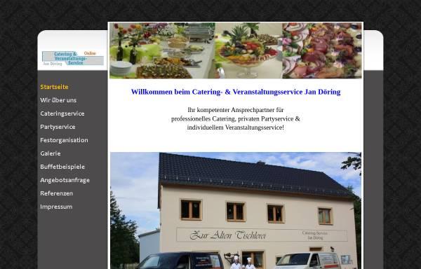 Vorschau von www.cateringservice-doering.de, Catering und Veranstaltungs-Service Jan Döring