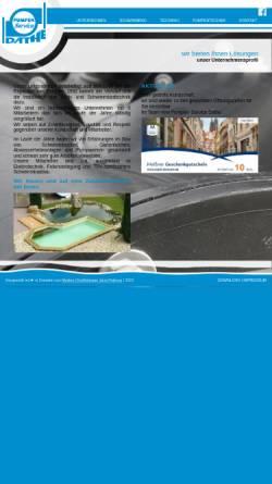 Vorschau der mobilen Webseite www.pumpenservice-dathe.de, Pumpen-Service Dathe GmbH