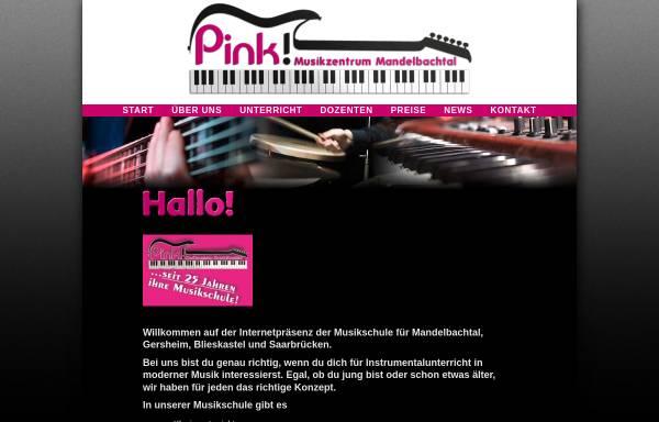 Vorschau von www.musikzentrum-mandelbachtal.de, Musikschule Pink Piano Ormesheim