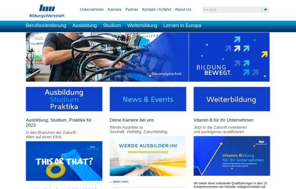 Vorschau von www.bildungs-werkstatt.de, Bildungs-Werkstatt Chemnitz (BWC-gGmbH)