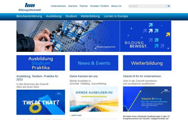 Vorschau von www.bwc-ggmbh.de, BWC -- Bildungs-Werkstatt Chemnitz gGmbH
