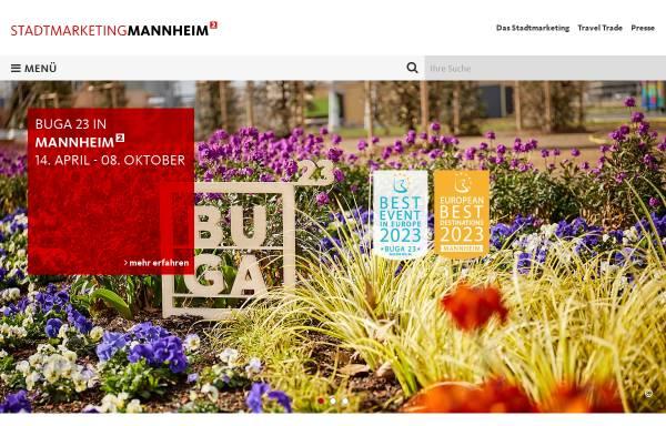 Vorschau von www.tourist-mannheim.de, Tourist Information Mannheim