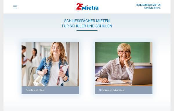 Vorschau von www.schliessfaecher.de, Mietra Schließfachanlagen GmbH