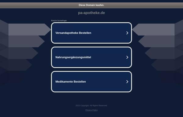 Vorschau von www.pa-apotheke.de, Park-Apotheke Hannelore Kahl