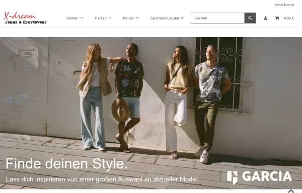 Vorschau von xdream24.de, X-Dream Jeans & Sportswear