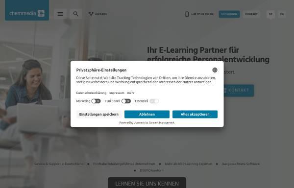 Vorschau von www.chemmedia.de, chemmedia AG