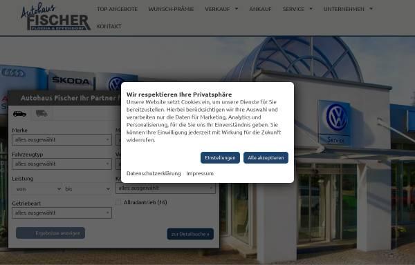 Vorschau von www.autohausfischer.de, Autohaus Fischer
