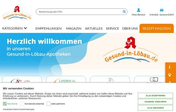 Vorschau von www.alte-apo-loebau.de, Die Alte Apotheke Löbau