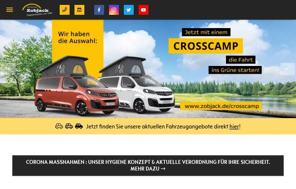 Vorschau von www.zobjack.de, Autohaus Zobjack GmbH