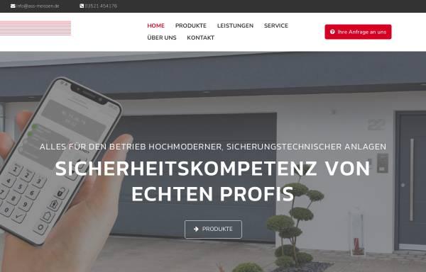 Vorschau von www.ass-meissen.de, Alarm Sicherheits GmbH
