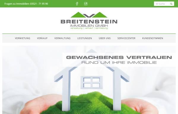 Vorschau von www.breitenstein-immobilien.de, Breitenstein Immobilien GmbH