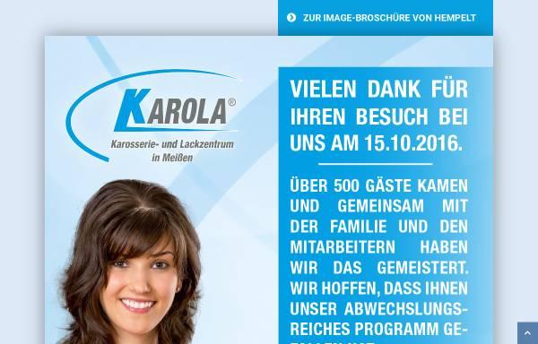 Vorschau von www.hempelt.de, Hempelt Karosserie u. Fahrzeugbau
