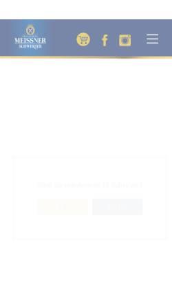 Vorschau der mobilen Webseite www.schwerter-brauerei.de, Privatbrauerei Schwerter Meißen GmbH