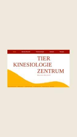 Vorschau der mobilen Webseite www.tierkinesiologie-zentrum.de, Tierkinesiologie Zentrum