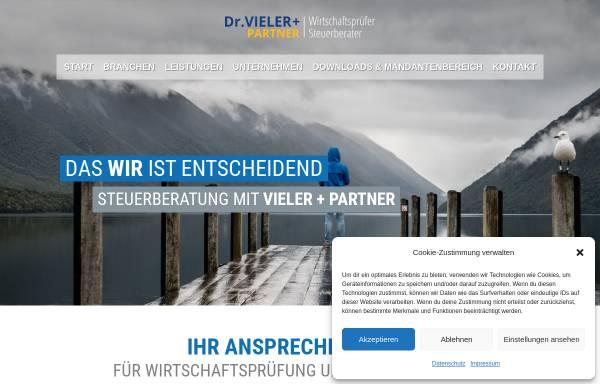 Vorschau von www.vieler-gbr.de, Dr. Vieler & Partner GbR