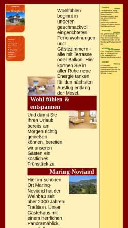 Vorschau der mobilen Webseite www.gaestehaus-schaefer.de, Gästehaus Am Honigberg