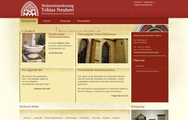 Vorschau von www.steinrestaurierung.de, Steinrestaurierung Neubert