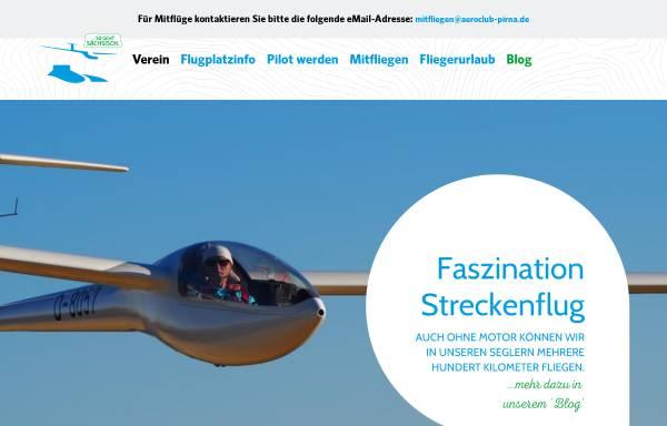 Vorschau von www.aeroclub-pirna.de, Aeroclub Pirna