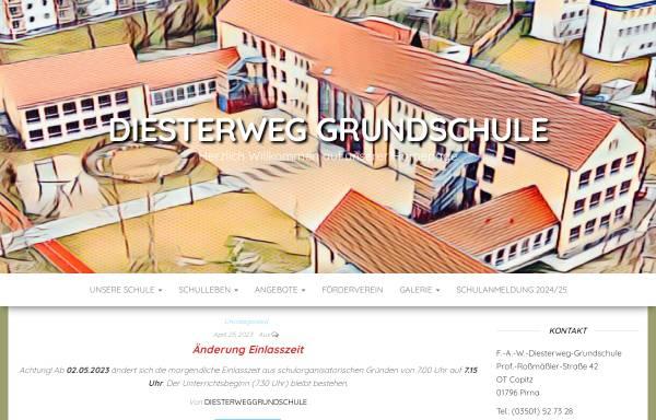 Vorschau von www.diesterweg-grundschule-pirna.de, Diesterweg-Grundschule Pirna-Copitz