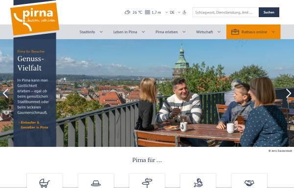 Vorschau von www.pirna.de, Stadt Pirna