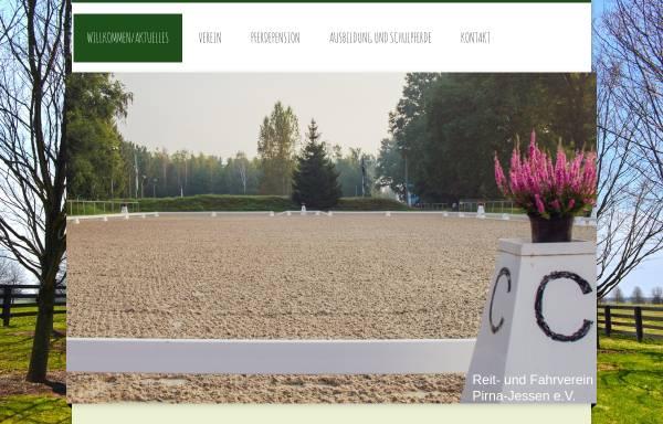 Vorschau von www.reitverein-pirna-jessen.de, www.reitverein-pirna-jessen.de