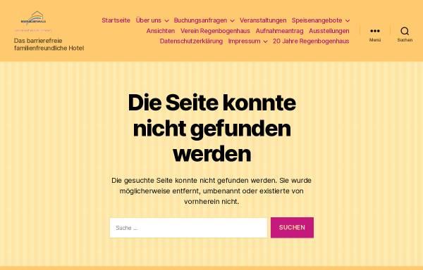 Vorschau von www.regen-bogen-haus.de, Hotel Regenbogenhaus