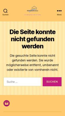 Vorschau der mobilen Webseite www.regen-bogen-haus.de, Hotel Regenbogenhaus