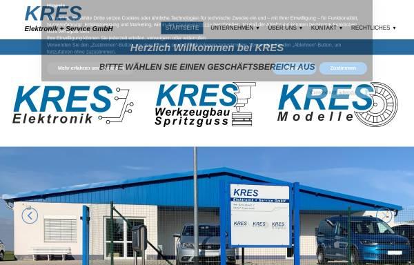 Vorschau von www.kres.de, Köstel & Rasch Elektronik + Service GmbH