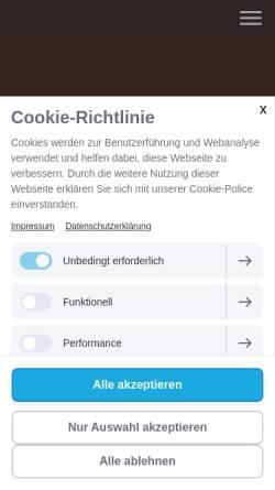 Vorschau der mobilen Webseite www.foto-gottschalk.de, Foto Gottschalk