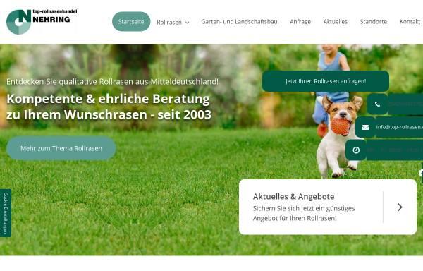 Vorschau von www.top-rollrasen.de, TOP - Rollrasen Handel Olaf Nehring
