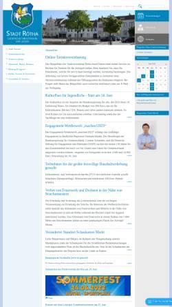 Vorschau der mobilen Webseite www.roetha.de, Stadt Rötha