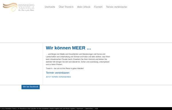 Vorschau von www.travel-a.de, Travel-A