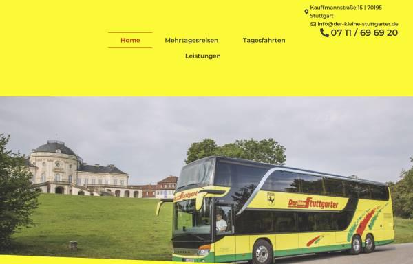 Vorschau von www.der-kleine-stuttgarter.de, Der kleine Stuttgarter - Omnibusverkehr
