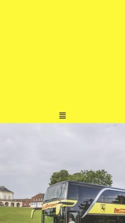 Vorschau der mobilen Webseite www.der-kleine-stuttgarter.de, Der kleine Stuttgarter - Omnibusverkehr