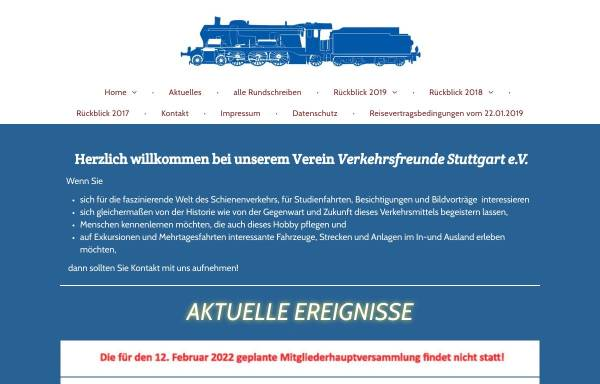 Vorschau von www.vfsev.de, Verkehrsfreunde Stuttgart e.V.
