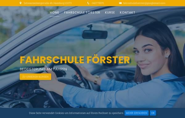Vorschau von www.fahrschule-foerster.de, Fahrschule Förster