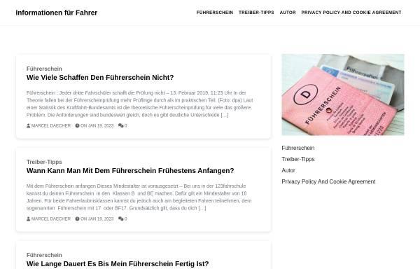 Vorschau von www.fahrschule-krause-hw.de, Fahrschule Krause