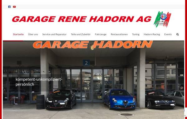 Vorschau von www.alfatuning.ch, Alfa Romeo Garage Hadorn, Bern