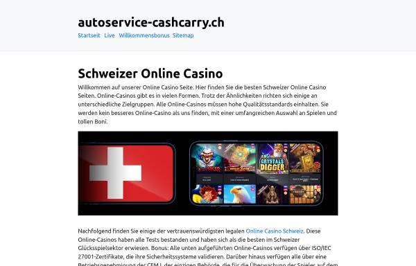 Vorschau von www.autoservice-cashcarry.ch, Autoservice Cash + Carry