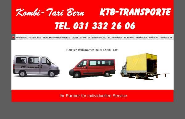 Vorschau von www.ktb-transporte.ch, KTB-Transporte, Bern