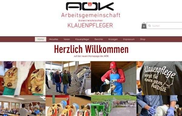 Vorschau von www.klauenpflege.at, Österreichisches Zentrum für funktionelle Klauenpflege