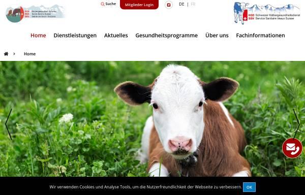 Vorschau von www.rgd.ch, RGD Rindergesundheitsdienst