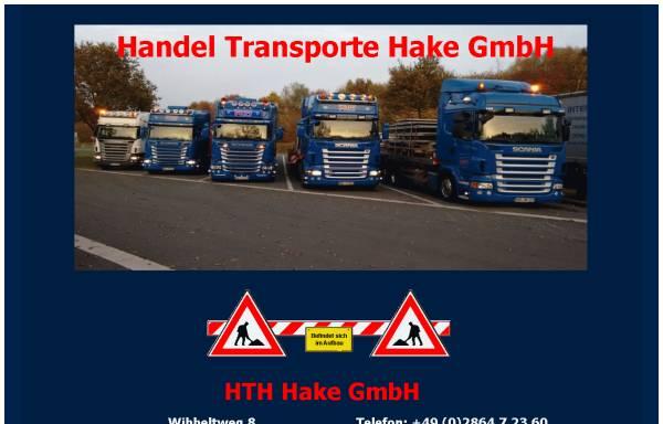 Vorschau von www.hake-reken.de, Hake Schweinezucht GmbH