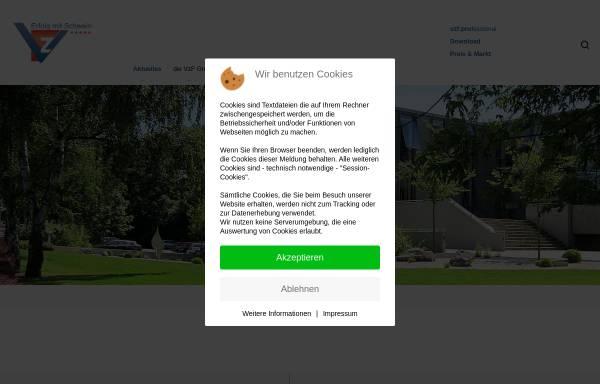 Vorschau von www.vzf-sued.de, VzF Süd GmbH