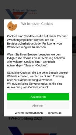 Vorschau der mobilen Webseite www.vzf-sued.de, VzF Süd GmbH