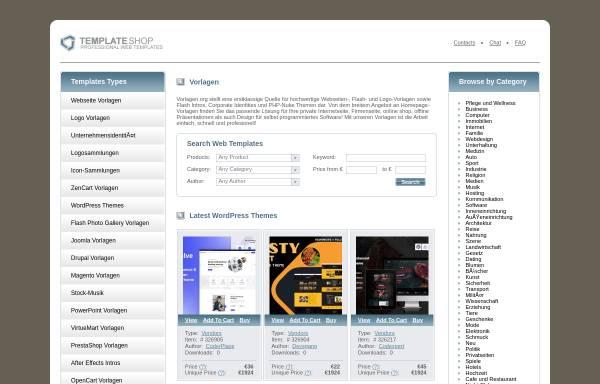 Vorschau von www.vorlagen.org, Vorlagen.org
